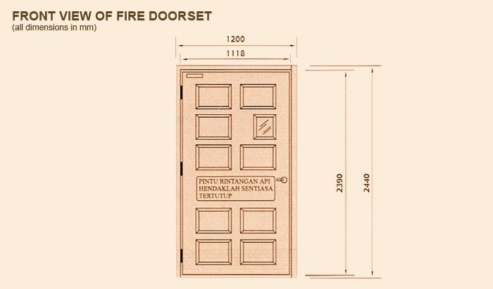 Fire Rated Fire Resistant Door Set Midah Industries